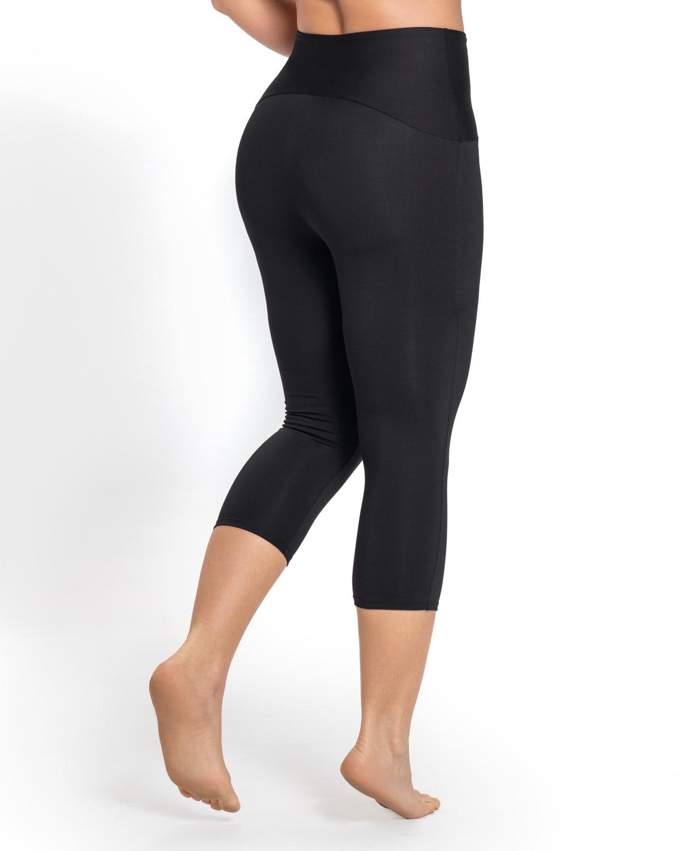 f496141b6 NEW! ActiveLife High-Waisted Butt Lifter Shaper Capri Legging
