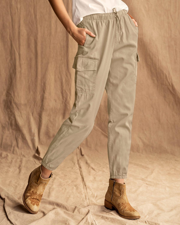 Pantalon Jogger Con Bolsillos Laterales Y Tira En Cintura Leonisa Colombia