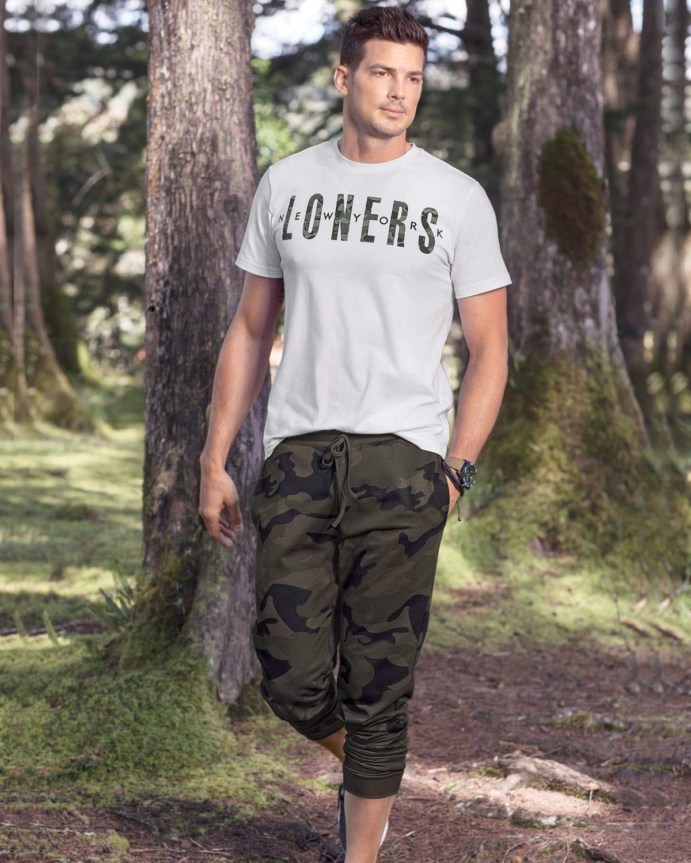 Pantalon Jogger Para Hombre Estampado Leonisa Colombia