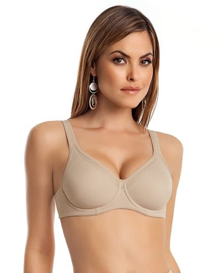 ergonomic full coverage control bra--MainImage