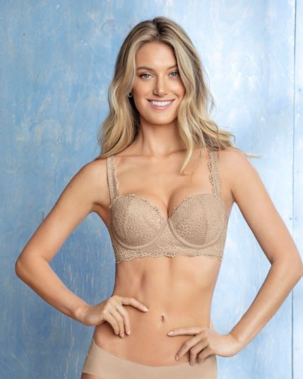 fabulous lace balconet bra--MainImage