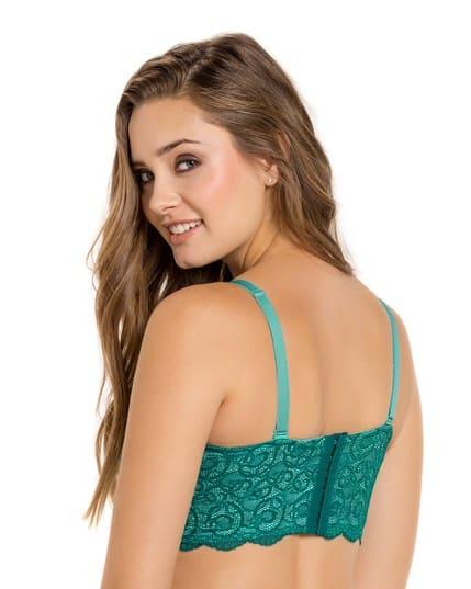 lace balconet push up bra--MainImage