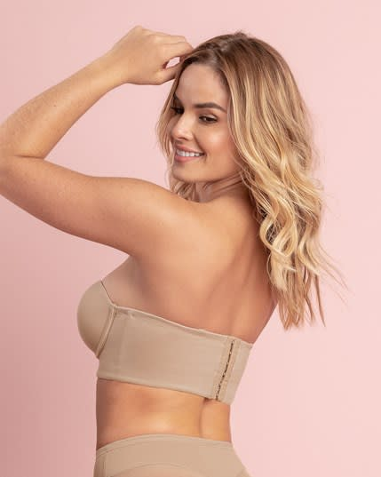 strapless longline slimming bra--MainImage
