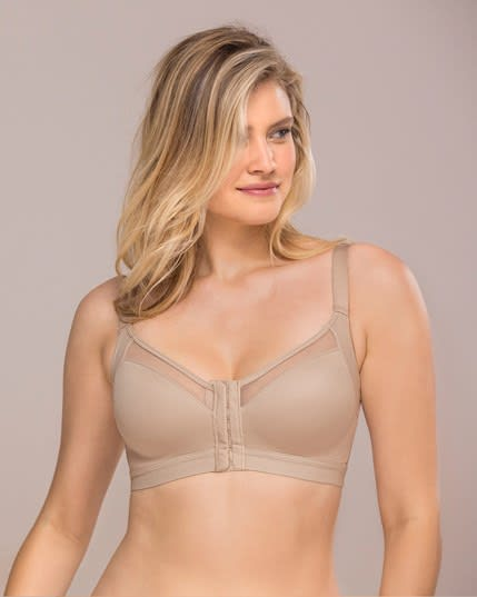 back support posture corrector wireless bra with contour cups--MainImage