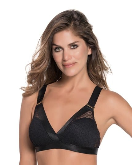 lavish lace wireless triangle bra with light lift--MainImage