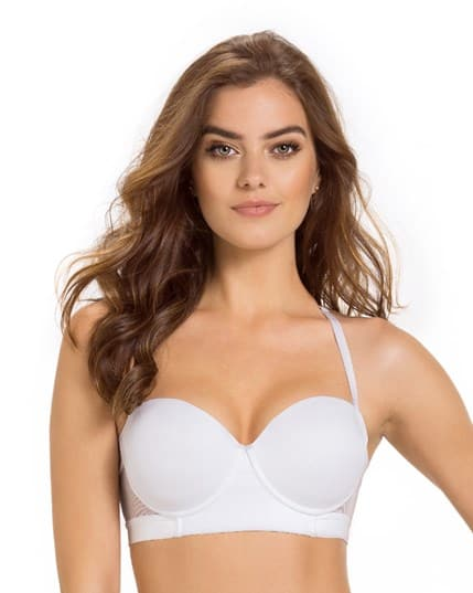 luxe tulle strappy balconet bra--MainImage