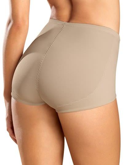 elegante calzon clasico de control con delicados toques de encajes--MainImage
