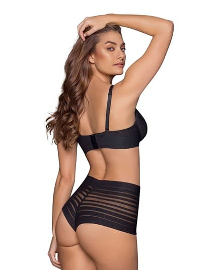 RETRO HIGH-WAIST BRAZILIAN BRIEF