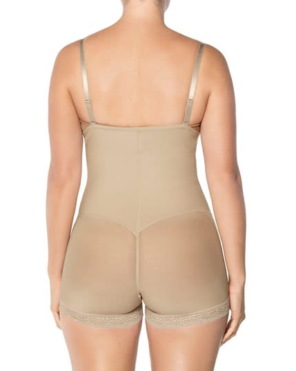 faja body estilo strapless con latex de reduccion--MainImage