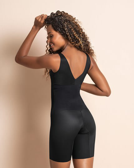 undetectable edge mid-thigh bodysuit shaper--MainImage