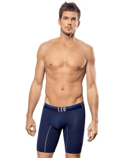 extra lange sich anpassende leo sport-shorts--MainImage