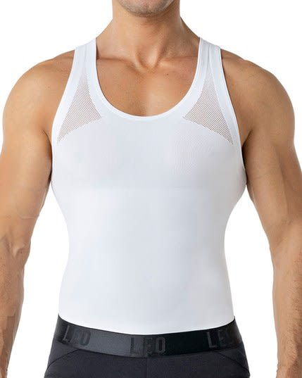 new leo crew neck seamless control tank--MainImage