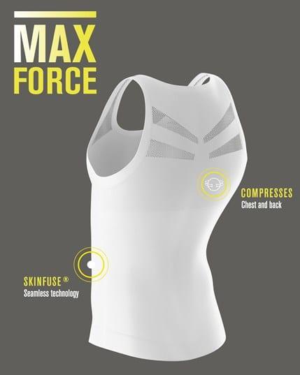 leo crew neck seamless compression tank--MainImage