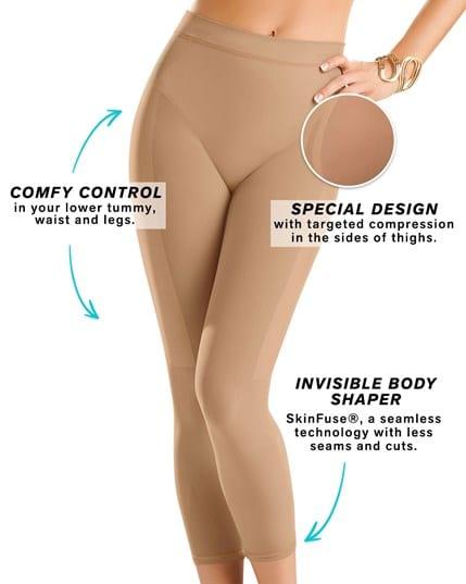 invisible super comfy compression high-waisted capri shaper--MainImage