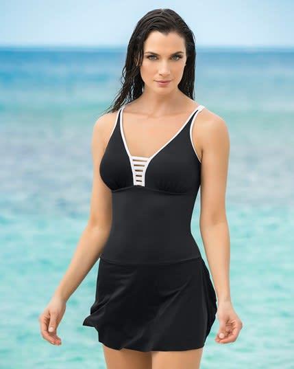 vestido de bano con falda multiestilo--MainImage