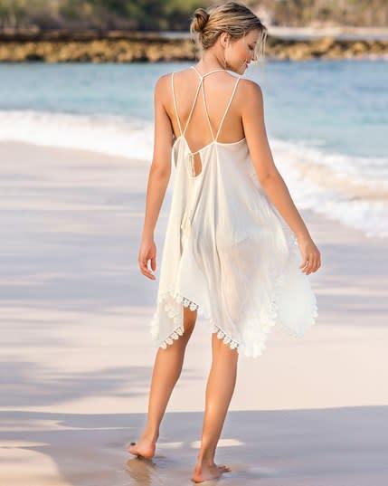 vestido de playa bordado--MainImage