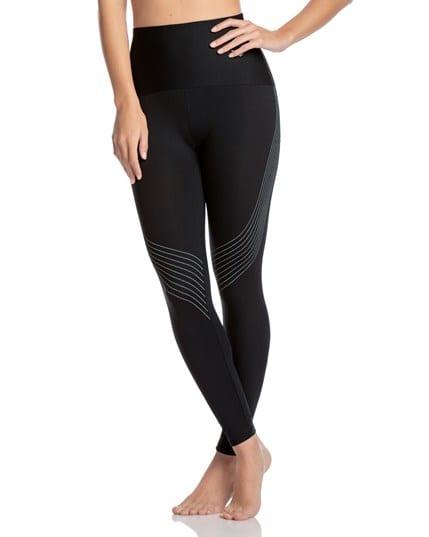 activelife contour stripe high-waisted compression legging--MainImage