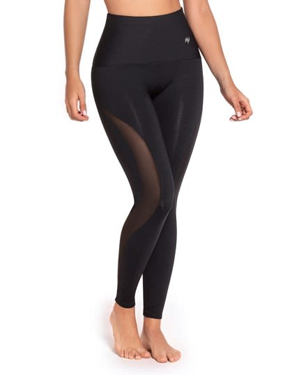 new activelife sheer tulle panel shaper legging--MainImage