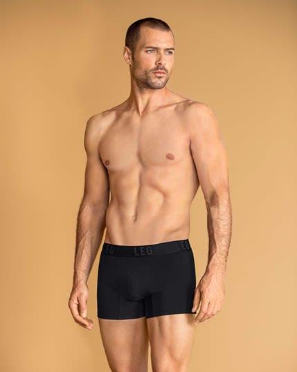 paquete por 2 boxers cortos leo en algodon elastico--MainImage