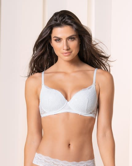 charming lace underwire bra--MainImage