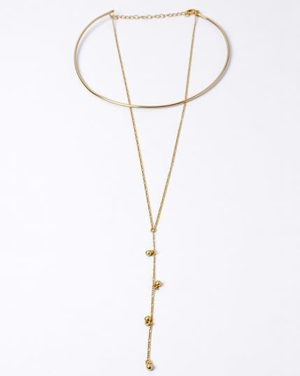 collar doble con choker y cadena--MainImage