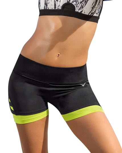 fitted workout short--MainImage
