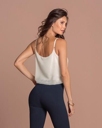 blusa de tiritas con tensor y body interno de control medio--MainImage