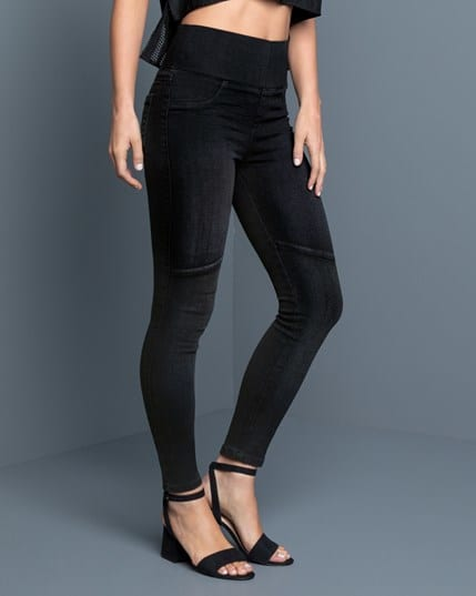 fitted faded slimming jegging--MainImage