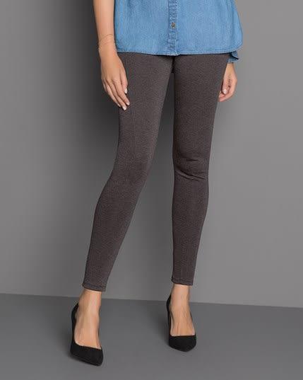 high-waisted color block slimming legging--MainImage