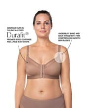 back support posture corrector wireless bra with contour cups--AlternateView2