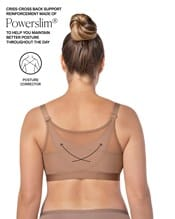 back support posture corrector wireless bra with contour cups--AlternateView3