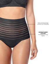 lace stripe high-waisted cheeky hipster panty--AlternateView4