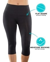 activelife power up moderate compression capri--AlternateView4