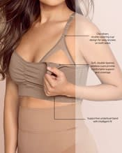 super comfy wireless back support nursing bra--AlternateView2