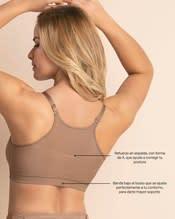 comodo brasier de maternidad con soporte de espalda y sin arco--ImagenAlterna3