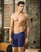 long athletic boxer brief with side pocket--AlternateView1