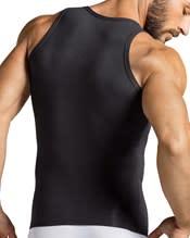 camiseta depotiva con control de abdomen--AlternateView1