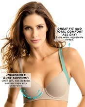 perfect everyday posture corrector cami bra-802- Nude-AlternateView2