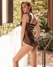 golden gate moderate compression strappy cage front one-piece swimsuit--AlternateView1