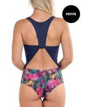 cutout one-piece push-up swimsuit--AlternateView1