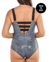 deep plunge strappy slimming one-piece swimsuit--AlternateView1