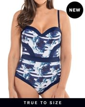 highlights moderate compression one-piece bathing suit--MainImage