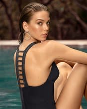 ladder back one-piece bathing suit--AlternateView1
