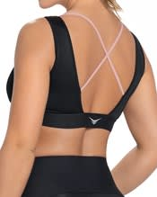 new strappy plunge sports bra with removable cups--AlternateView1