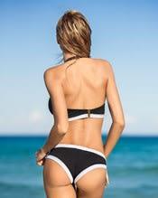 stylischer bikini mit reiverschluss am top--AlternateView1