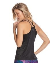 activelife strappy cami with built-in bra--AlternateView1