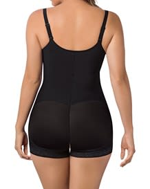 Slimming braless body shaper in boyshort