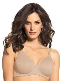 excellent coverage triangle bra-802- Nude-MainImage
