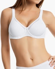 ergonomic full coverage control bra-000- White-MainImage