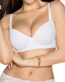 light support perfect fit underwire bra-000- White-MainImage